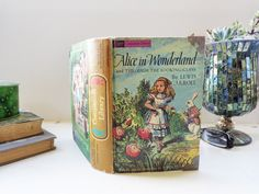 A Vintage Book turned Jewelry Box and Book Safe.