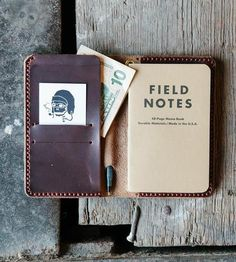 Loyal Leather Travel Wallet by Loyal Stricklin on Scoutmob Shoppe