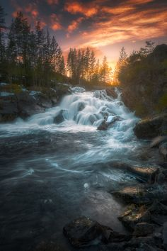 ~~Power of Love | I cannot explain my fascination with waterfalls | by Ole Henrik Skjelstad~~