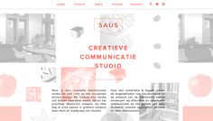 Saus - Web design inspiration from siteInspire