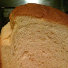 Country White Bread for 2 lb machine. My new favourite bread maker bread!