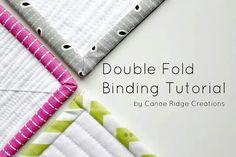 Double fold binding