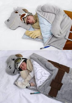 Tauntaun Sleeping Bag. Oh my goodness, this goes beyond nerdy. I wonder if it stinks inside there...