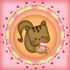 Sweet little squirrel