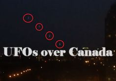 Speculations About a UFO Lights Seen Over Toronto