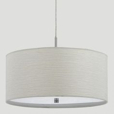 One of my favorite discoveries at WorldMarket.com: Billie Pendant Lamp  This is only $89.99.  What about this and possibly buying ribbon in orange & teal ... doing a stripe on top & bottom?  Little DIY project but might work?