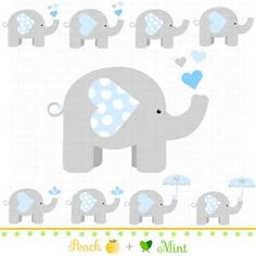 Baby Elephant Clip Art - Bing images