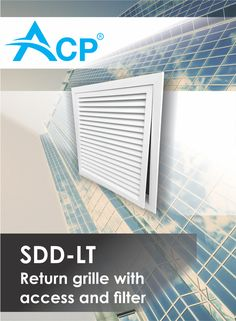 Return grill with access and filter SDD-LT Air Supply, Ventilation System, Filters, Home Appliances, Products, House Appliances, Appliances, Gadget