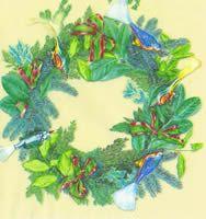 2215 Servilleta decorada Navidad