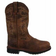 Dan Post Men's Anvil Waterproof Cowboy Boots (Saddle Tan)