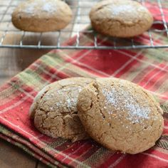 An old recipe for a traditional cookie that turns out thick, chewy, and delicious!