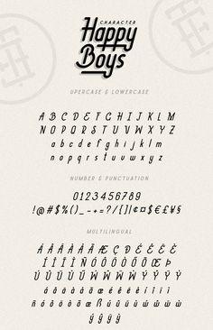 Happy Boys Typeface