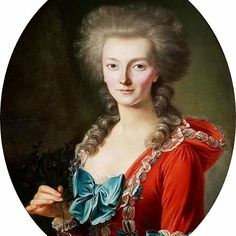 Portrait of a noblewoman, 1770, François-Bruno Deshays de Colleville.
