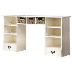 Kids Dresser Hutch - White