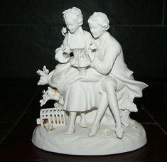 Unterweissbach Porzellan Liebespaar Porzellanfigur Sculpture, Statue, Art, Figurine, Love, Kunst, Art Background, Sculptures, Performing Arts