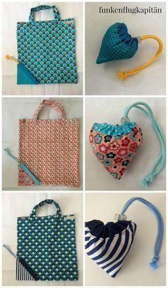Tasche in der Tasche, Tasche, Einkaufsbeutel, Baumwolle, Nähen