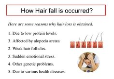One of the major causes of hair loss in women or men is their susceptibility to it as per the family history. Stress also cause hair loss or thinning of hair