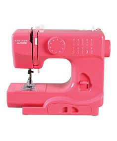 Pink Lightning Sewing Machine by Janome!
