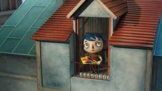 Une des marionnettes du film Ma vie de courgette réalisé par Claude Barras.
