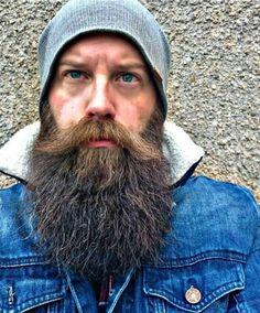 My beard and I say hello. Beards And Mustaches, Beard And Mustache Styles, Grey Beards, Long Beards, Beard No Mustache, Long Beard Styles, Hair And Beard Styles, Hairy Men, Bearded Men