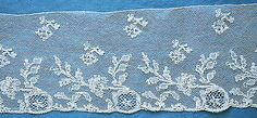 Antique/vintage Mechlin lace edging late 18th century - Pat Earnshaw collection