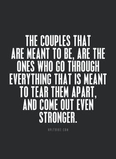 :) tears, heartaches, fights, love, love making, understanding, compassion..forgiveness...