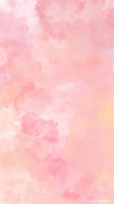 Trendy wallpaper backgrounds aesthetic yellow and blue Ideas Frühling Wallpaper, Pink Wallpaper Backgrounds, Watercolor Wallpaper, Iphone Background Wallpaper, Trendy Wallpaper, Pastel Wallpaper, Tumblr Wallpaper, Aesthetic Iphone Wallpaper, Watercolor Background