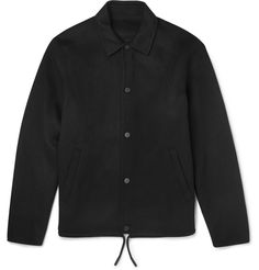 Acne Studios - Tony Wool and Cashmere-Blend Coach Jacket | MR PORTER