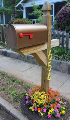 Paint your Mailbox | Bee crafts, Bees and Sugaring