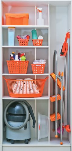 "Visit our internet site for additional info on ""laundry room storage shelves"". It is a superb spot to learn more. Utility Room Storage, Utility Closet, Laundry Closet, Cleaning Closet, Closet Storage, Storage Room, Laundry Rooms, Home Organisation, Laundry Room Organization"