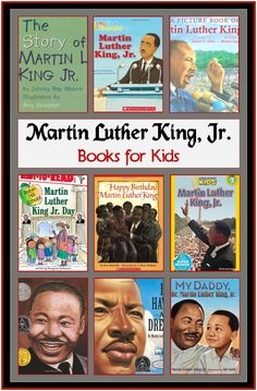 MLK books for kids