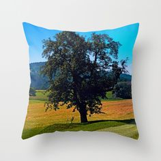 A tree with no name and two chairs Throw Pillow by patrickjobst Chair Pillow, No Name, Chairs, Throw Pillows, Home Decor, Toss Pillows, Decoration Home, Cushions, Room Decor