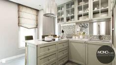 Kuchnia w klimacie amerykańskim - zdjęcie od MONOstudio - Kuchnia - Styl Glamour - MONOstudio