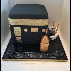 By faizacustomcakes! Purple Party Decorations, Ramadan Decorations, Decoration Party, Fondant Cakes, Cupcake Cakes, Eid Cakes, Cake Boss Wedding, Mekka Islam, Ramadan Crafts