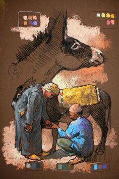 Drawing Techniques Pencil, Pencil Portrait Drawing, Colored Pencil Portrait, Pencil Art, Horse Drawings, Cool Art Drawings, Art Sketches, Drawing Art, Pastel Portraits