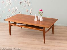 60s coffee table 50s vintage Denmark 604028 by MidCenturyFriends