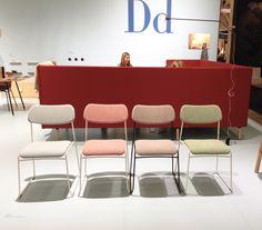 Lean - a stackable chair by Daniel Enoksson Studio for David design.