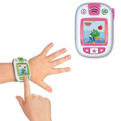 LeapFrog LeapBand makes getting active fun and exciting for your little one. It is the first-ever activity tracker made especially for kids. Just preload the LeapBand with up to 50 activity challenges to encourage active play and healthy habits.