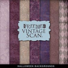 Far Far Hill - Free database of digital illustrations and papers: Freebies Halloween Backgrounds