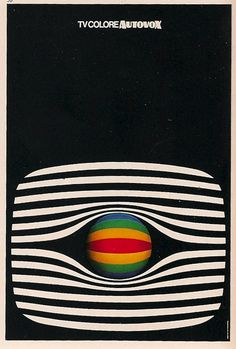 poster from Graphis 75 by Ettore Vitale