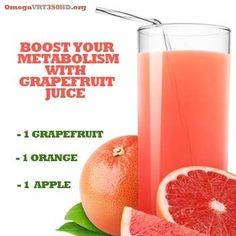 Boost Your Metabolism with Grapefruit Juice! For this and other metabolism boosting juice recipes visit: http://ifocushealth.com/natural-metabolism-booster-try-juicing/