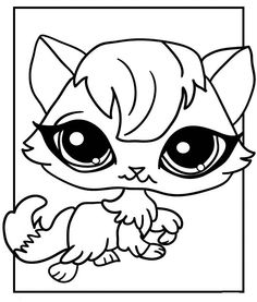 Littlest Pet Shop Kolorowanki