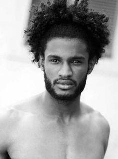 Medium Length Stringy black men haircut styles 2015