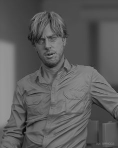 ArtStation - 3D Portrait of David Spriggs, Ian Spriggs