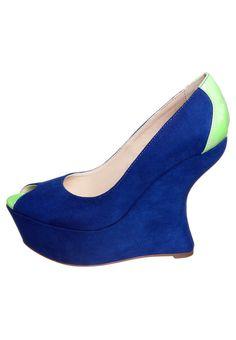 Peeptoes - Blauw