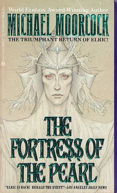 The Fortress of the Pearl by Michael Moorcock. Find it at Eisenhower Library http://swanencore.mls.lib.il.us/iii/encore/record/C|Rb1638559|Smichael+moorcock+pearl|P0,1|Orightresult|X2?lang=eng=def