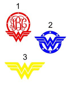 Vinyl Decals | Wonder Woman