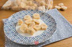 Een tros bananen over? Gooi ze in de diepvries! Met bevroren banaan heb je altijd een gezonde snack binnen handbereik, of je maakt er roomijs van!