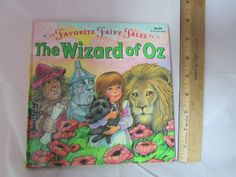 Favorite Fairy Tales Wizard of Oz Book and Puzzle by OzRoad