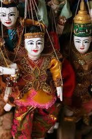 Burma puppets